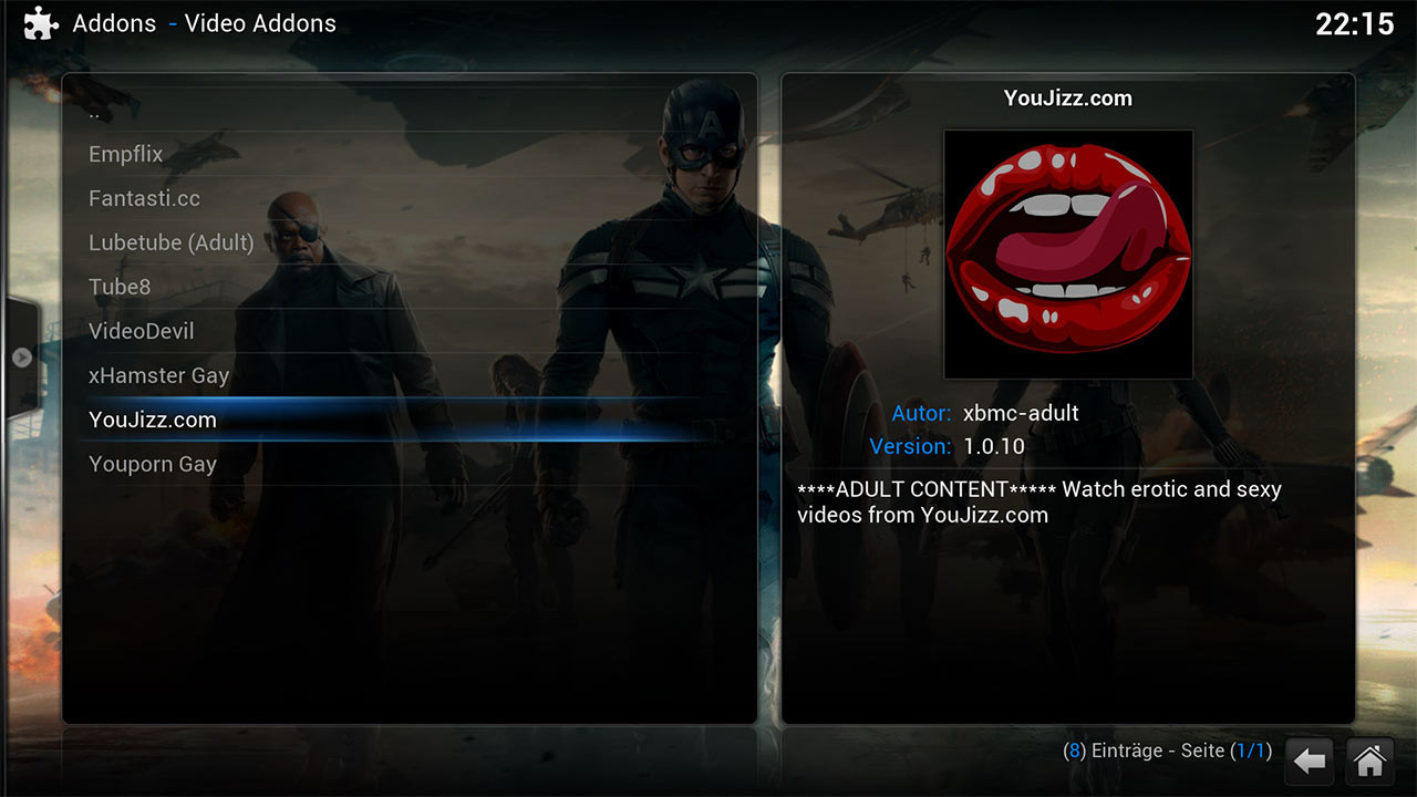 installer zstream kodi