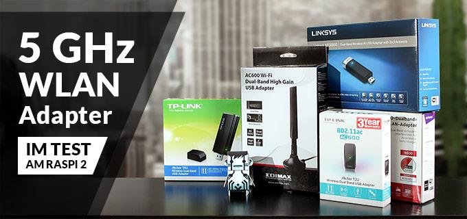 5 GHz WLAN Adapter Empfehlung für den Raspberry Pi 2