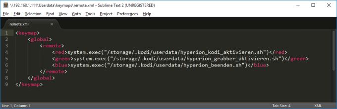 screenshot_keymap_hyperion_steuern