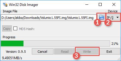 win32_image_schreiben_volumio