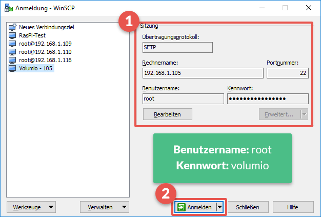 winscp_volumio_raspberry_pi